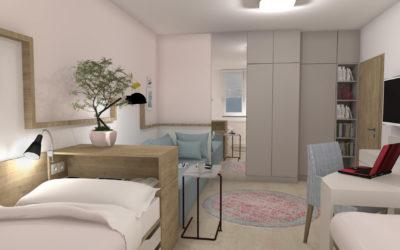 Vizualizace studentského bytu